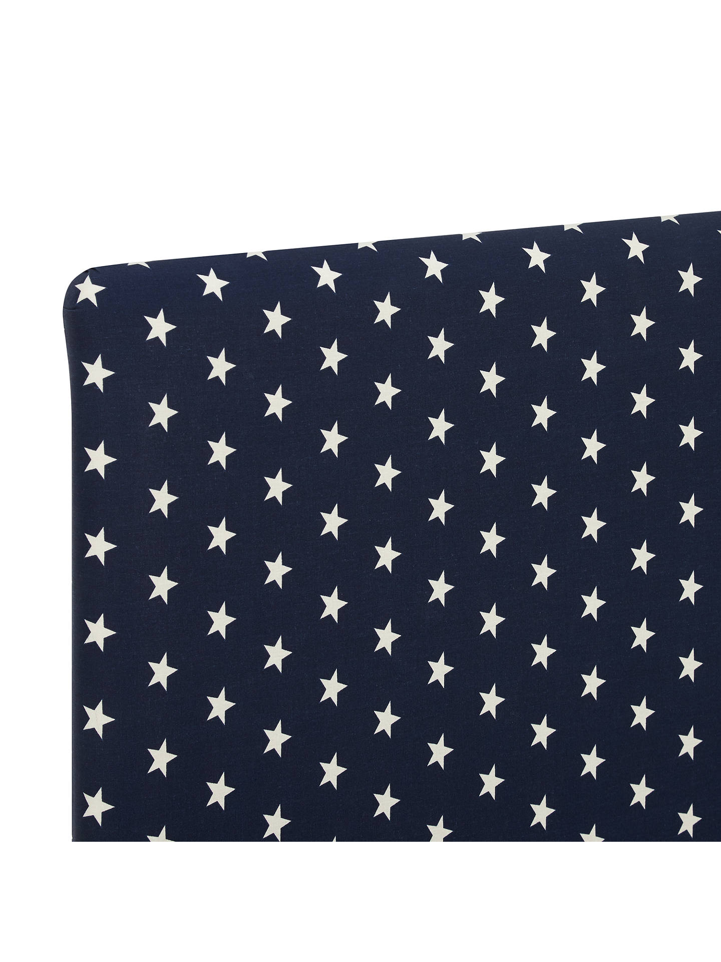 Buy John Lewis & Partners Star Print Square Strutted Headboard, Single Online at johnlewis.com