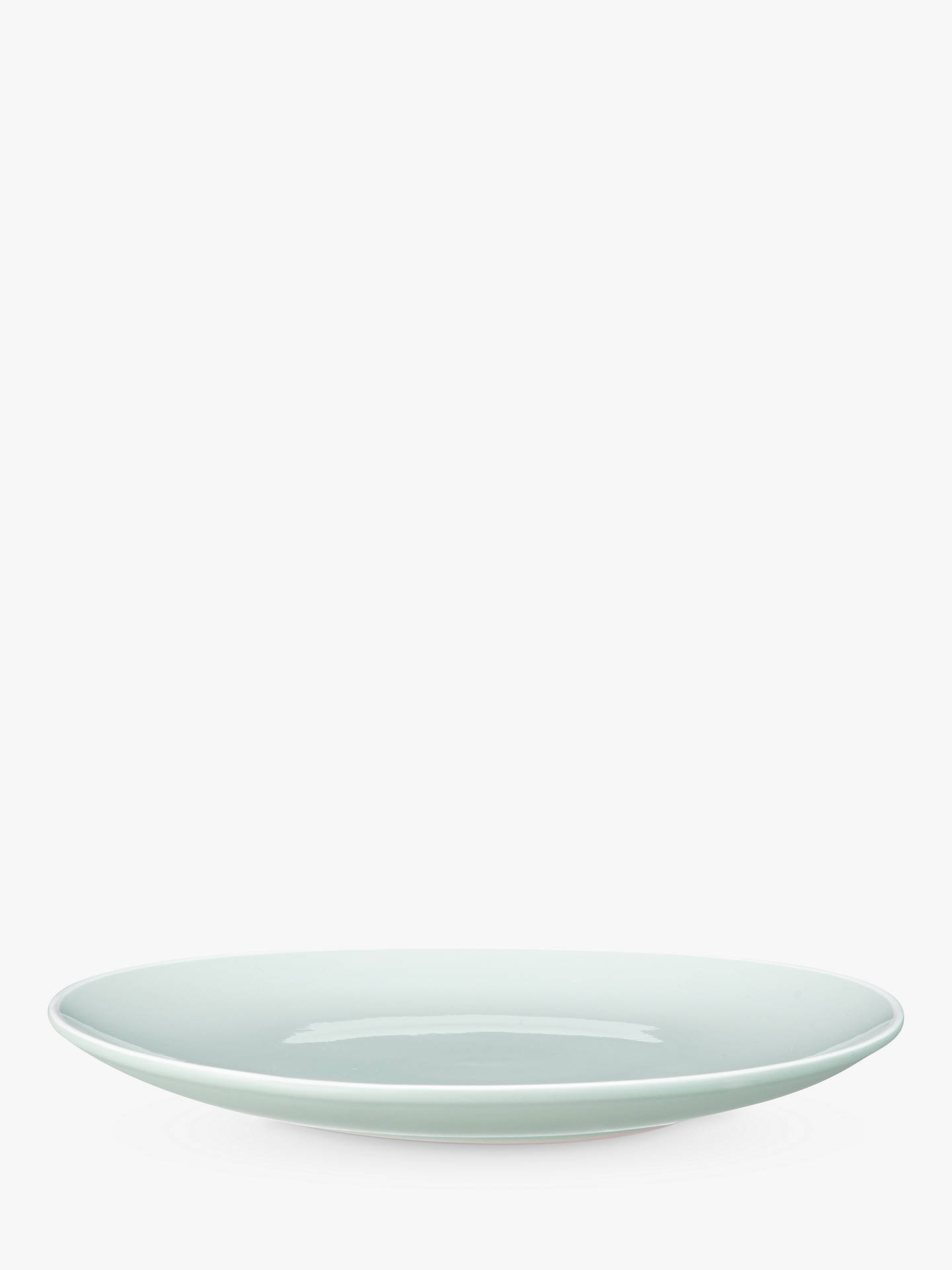 John Lewis Amp Partners Puritan Side Plate Mint Dia 21cm