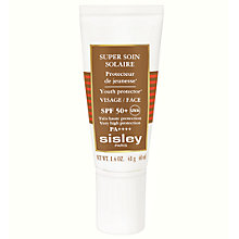 Buy Sisley Super Soin Facial Sun Cream SPF50+, 40ml Online at johnlewis.com