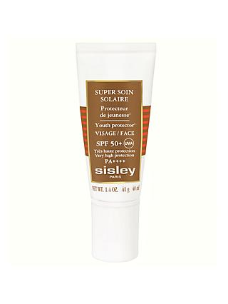 Sisley Super Soin Facial Sun Cream SPF50+, 40ml
