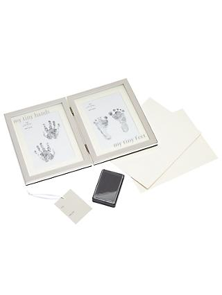 75660c1f8af4 John Lewis   Partners Baby My Tiny Hands and Feet Ink Frame