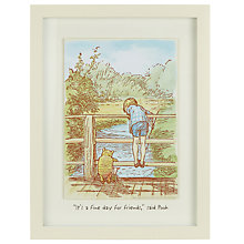 Buy Winnie The Pooh Wall Plaque Online at johnlewis.com