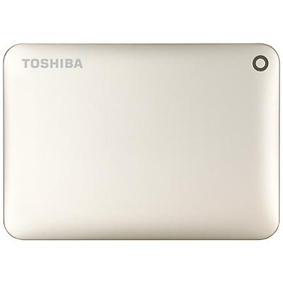 Toshiba Canvio Connect II Portable Hard Drive, USB 3.0, 1TB