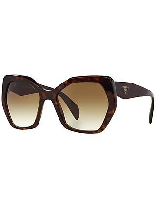 Prada PR16RS Irregular Framed Sunglasses