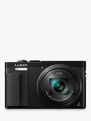 "Panasonic Lumix DMC-TZ70 Digital Camera HD 1080p, 12.1MP, 30x Optical Zoom, NFC, Wi-Fi, Manual Control Ring, EVF, 3"" LCD Screen"