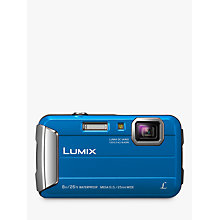 Buy Panasonic Lumix DMC-FT30 Waterproof Camera, 16.1MP, 4x Optical Zoom, 2.7 LCD Screen Online at johnlewis.com