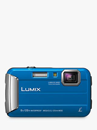 Panasonic Lumix DMC-FT30 Waterproof Camera, 16.1MP, 4x Optical Zoom, 2.7 LCD Screen