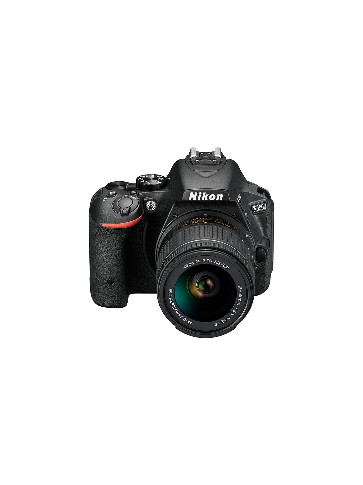 "Buy Nikon D5500 Digital SLR Camera, HD 1080p, 24.2MP, Wi-Fi, 3.2"" Vari-angle LCD Screen With 18-55MM VR Lens Online at johnlewis.com"