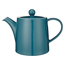 Buy House by John Lewis Teapot, 1.4L, Teal Online at johnlewis.com