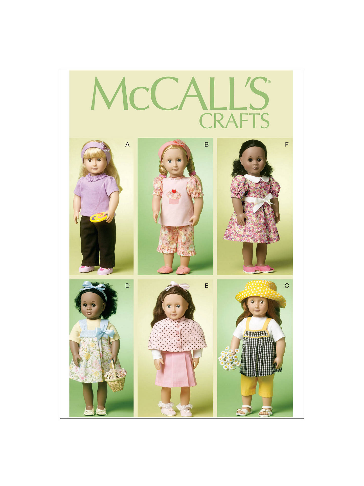 Terrific Mccalls 18 Doll Clothes Sewing Pattern 6526 One Size At Download Free Architecture Designs Scobabritishbridgeorg