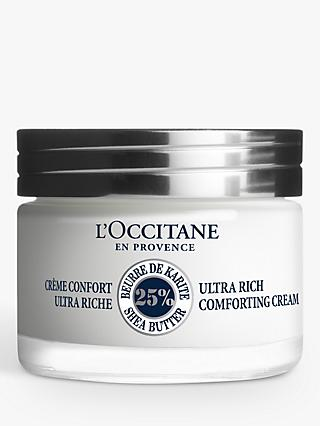 L'Occitane Ultra Rich Comforting Face Cream, 50ml
