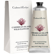 Buy Crabtree & Evelyn Caribbean Island Hand Cream, 100g Online at johnlewis.com