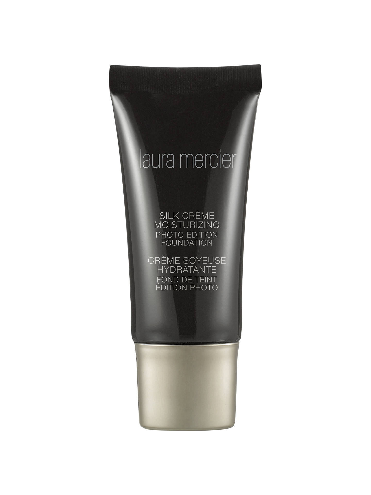 BuyLaura Mercier Silk Creme Moisturising Photo Edition Foundation, Medium Ivory Online at johnlewis.com