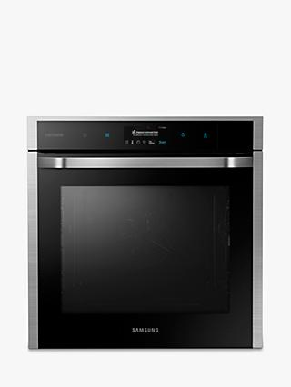 Samsung NV73J9770RS Chef Collection Gourmet Vapour Technology™ Single Oven with Wifi, Touch LCD, Stainless Steel