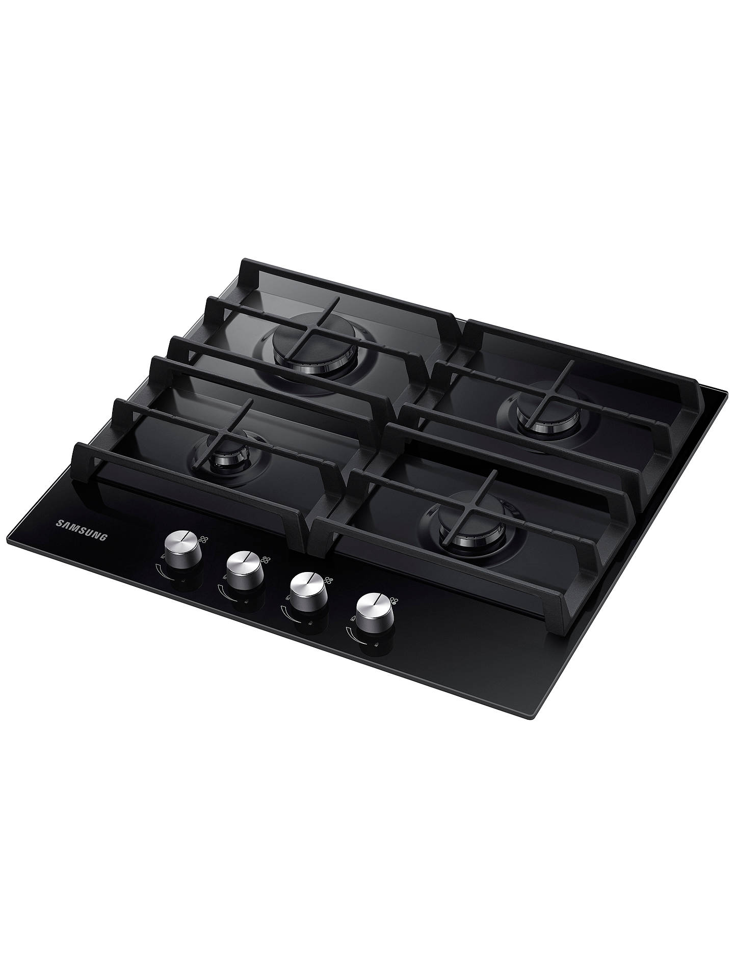 Buy Samsung NA64H3000AK Gas Hob, Black Online at johnlewis.com