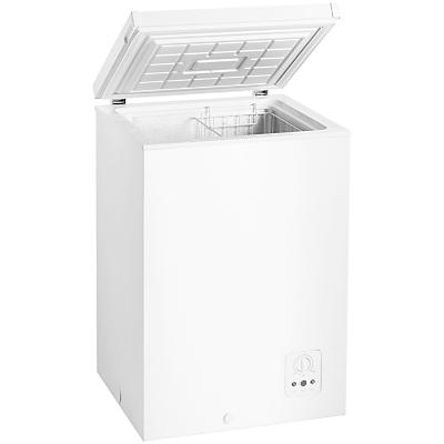 John Lewis JLCH102 Freestanding Chest Freezer, White