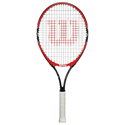 Wilson Roger Federer 25 Junior Tennis Racket, Red/Black