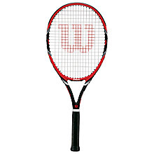 Buy Wilson Federer Team 105 Adult Tennis Racket, Red/Black Online at johnlewis.com