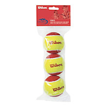 Buy Wilson Starter Red Tennis Balls, Pack of 3, Red/Yellow Online at johnlewis.com