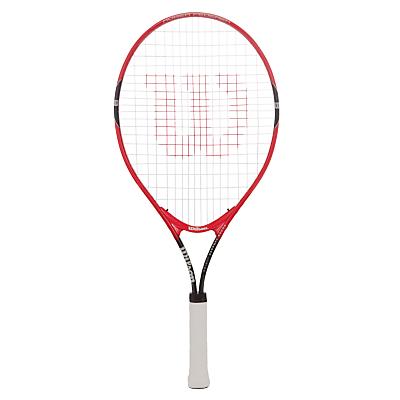 Wilson Roger Federer 25 Junior Tennis Set, Red/Black