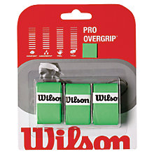 Buy Wilson Pro Tennis Overgrip, Pack of 3 Online at johnlewis.com