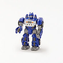 Buy John Lewis Small Robot Toy, Blue Online at johnlewis.com