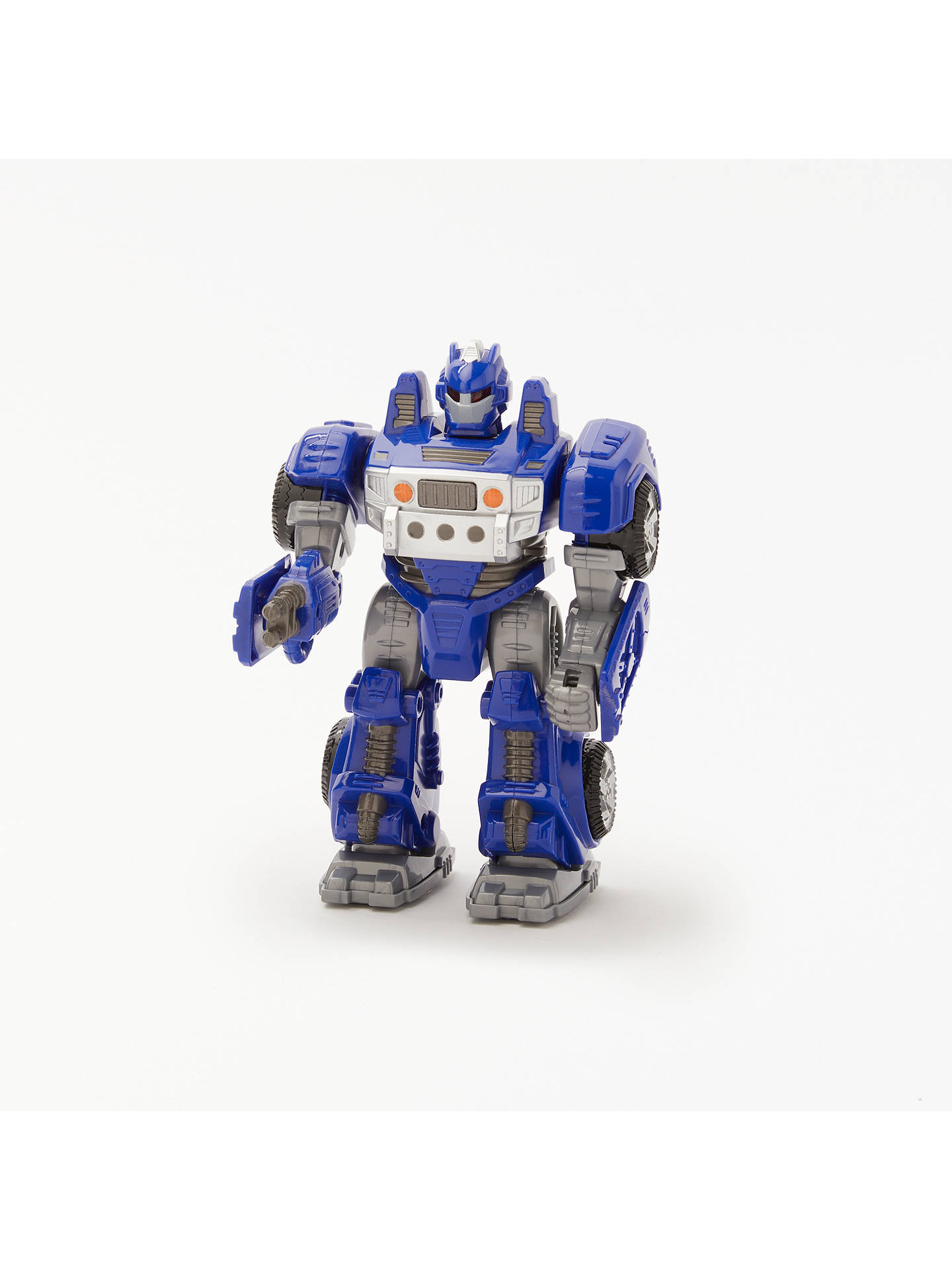 BuyJohn Lewis & Partners Small Robot Toy, Blue Online at johnlewis.com