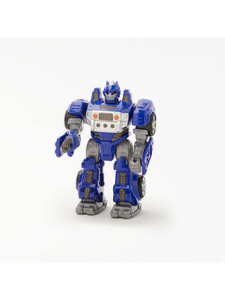Buy John Lewis & Partners Small Robot Toy, Blue Online at johnlewis.com