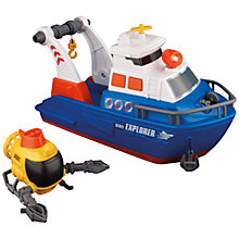 Buy John Lewis Explorer Boat Toy Set Online at johnlewis.com