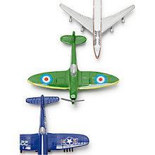 Buy John Lewis Toy Planes, Set of 3 Online at johnlewis.com