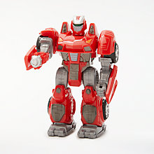 Buy John Lewis Small Robot Toy, Red Online at johnlewis.com