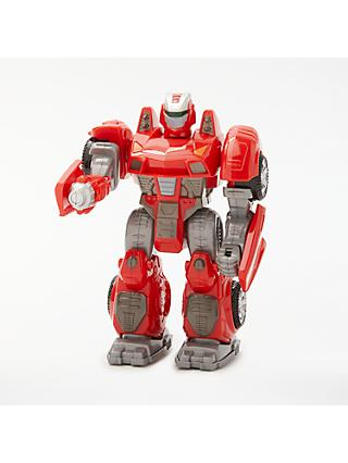 John Lewis & Partners Small Robot Toy, Red
