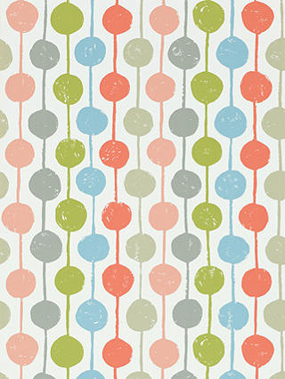 Buy Scion Taimi Wallpaper, Poppy/Kiwi/Charcoal, 111123 Online at johnlewis.com