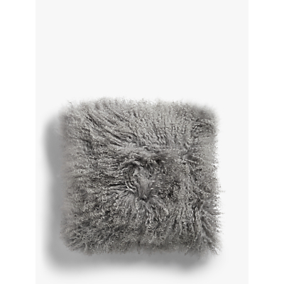 John Lewis Croft Collection Mongolian Sheep Hair Cushion