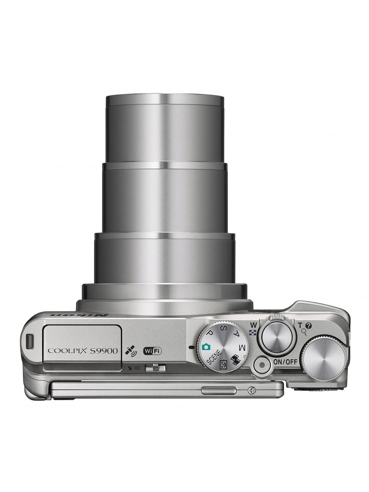 Nikon COOLPIX S9900 Smart Compact Digital Camera, 16MP, Full