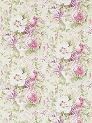 Buy Sanderson Giselle Wallpaper, Bordeaux/Olive, DFAB214090 Online at johnlewis.com