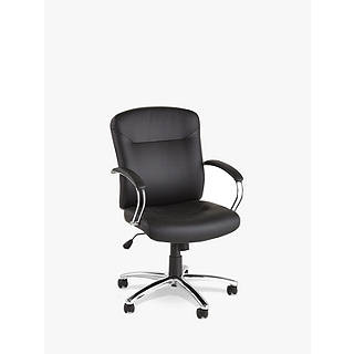 office leather chair. John Lewis Warner Faux Leather Office Chair