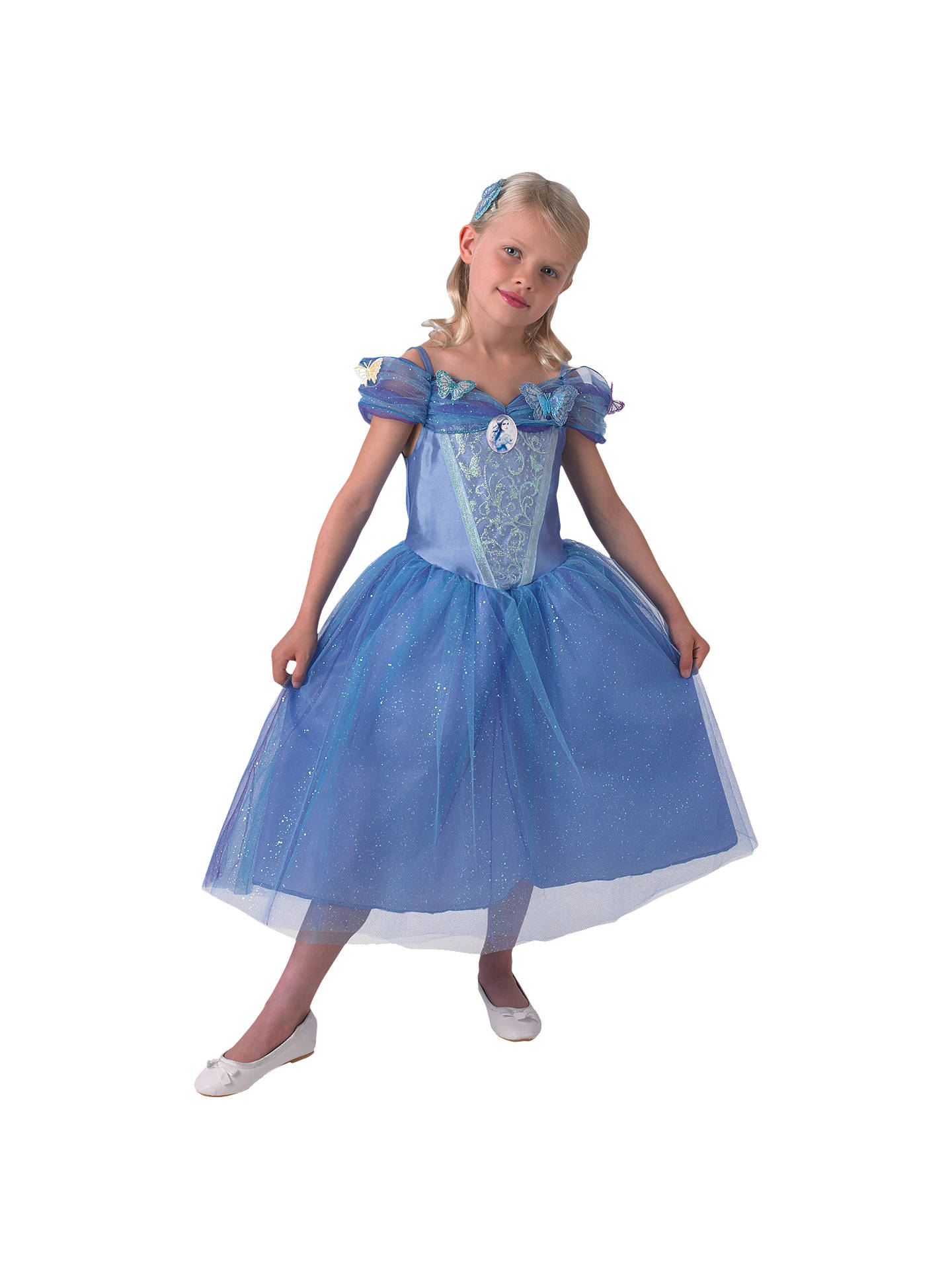 Disney Cinderella Ball Gown Dressing-Up Costume at John Lewis & Partners