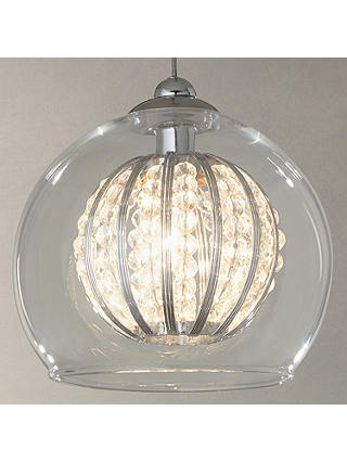 John Lewis Claire Single Beaded Pendant Light At John