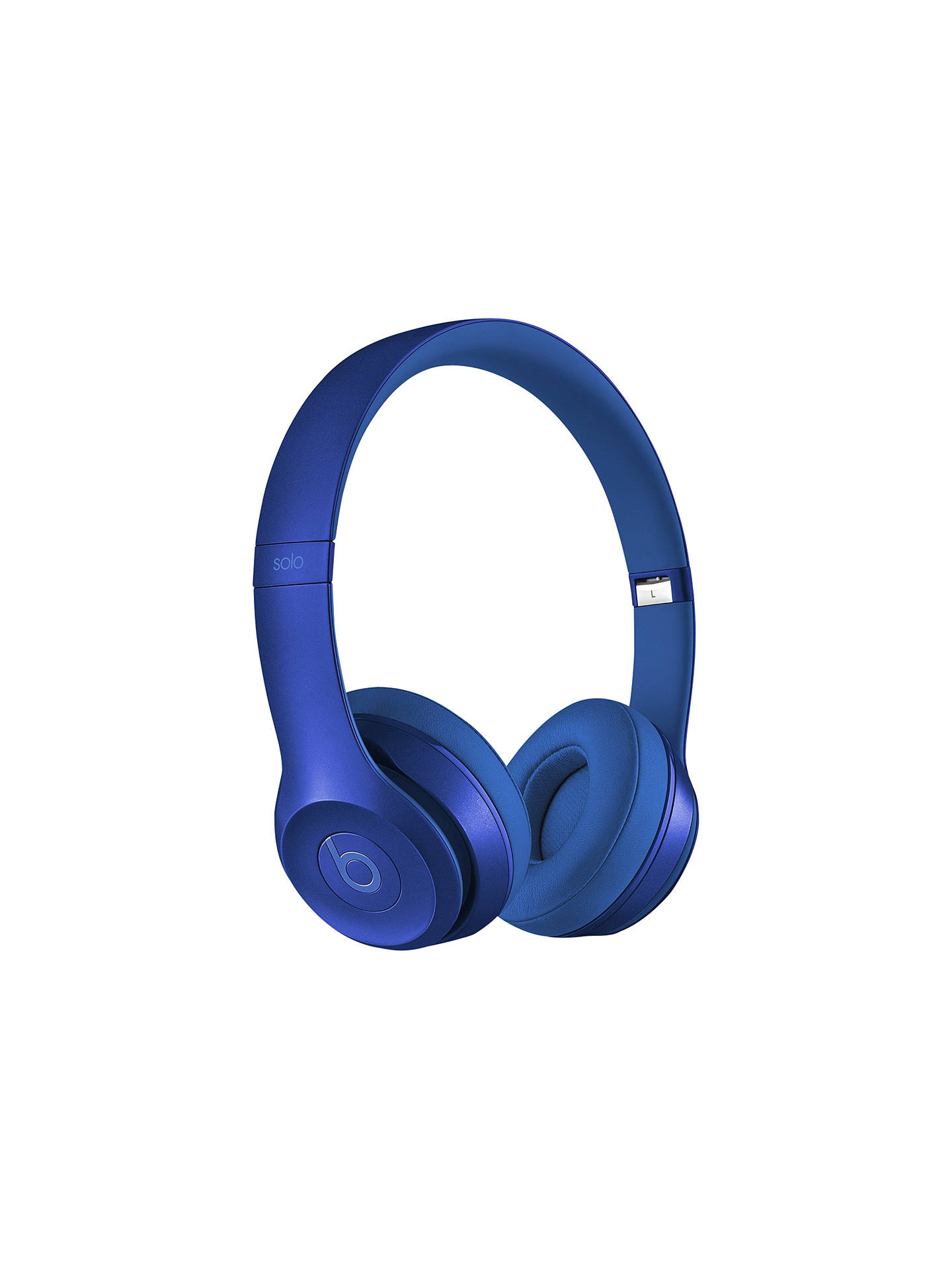 Buy Beats™ by Dr. Dre™ Solo™ 2 HD High Definition On-Ear Headphones with Mic/Remote, Royal Edition, Royal Blue Online at johnlewis.com