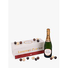 Buy Laurent-Perrier Brut Champagne and Montezuma's Truffle Set, 75cl Online at johnlewis.com