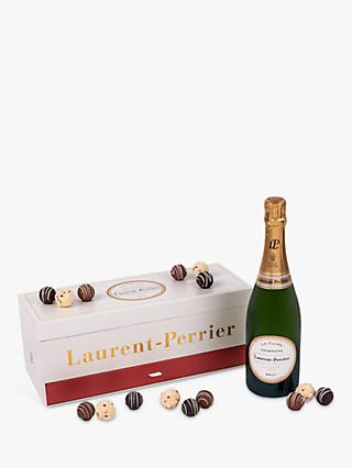 Laurent-Perrier Brut Champagne and Montezuma's Truffle Set, 75cl