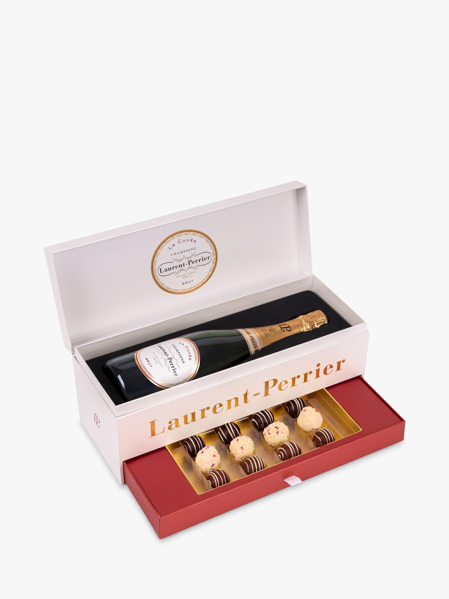 Laurent-Perrier Laurent-Perrier Brut Champagne and Montezuma's Truffle Set, 75cl