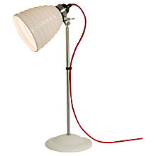 Buy Original BTC Hector Bibendum Desk Light, White Online at johnlewis.com