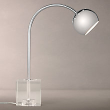 Buy John Lewis Finlay Crystal and Chrome Table Lamp Online at johnlewis.com