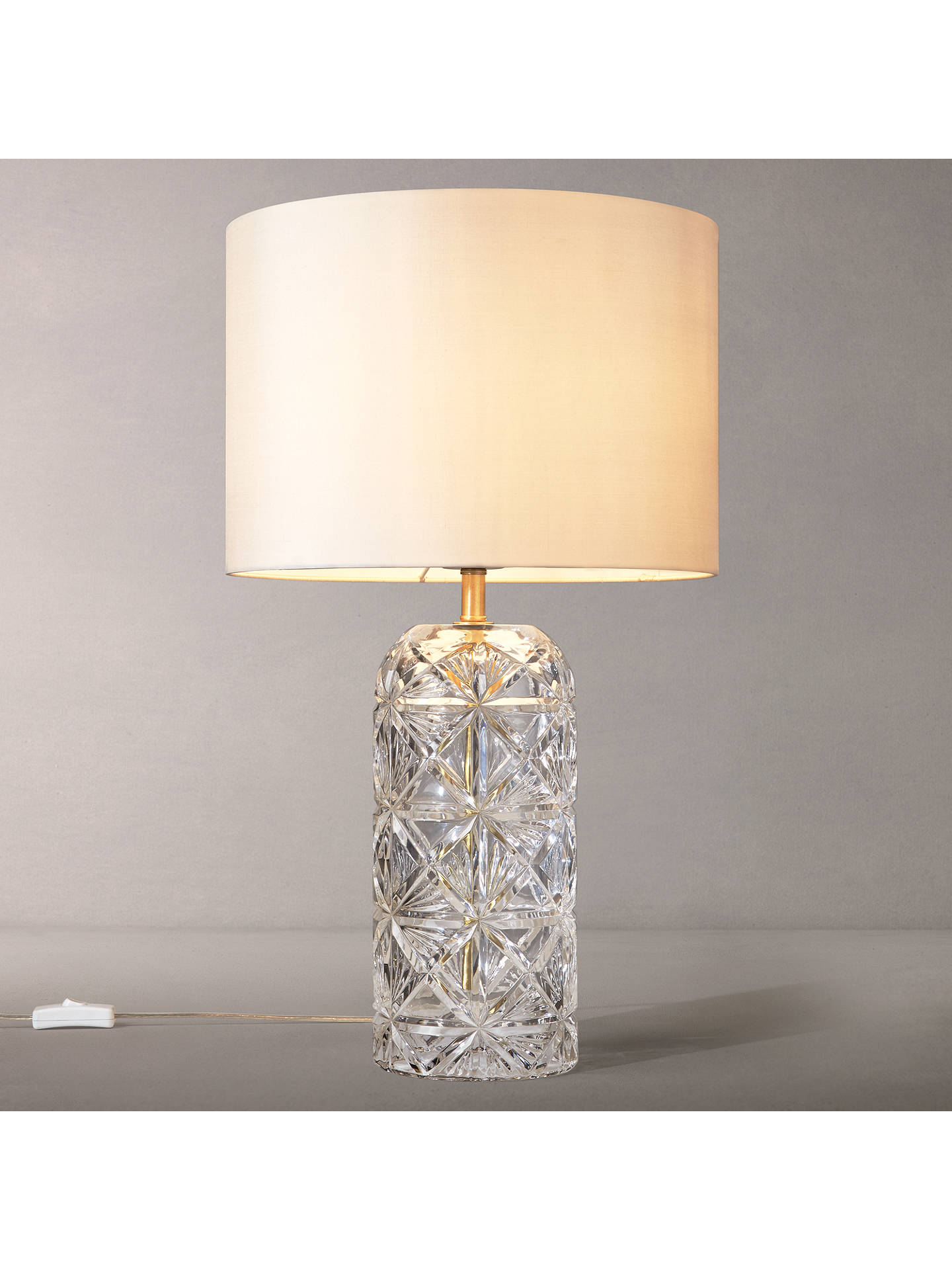 Shop Glass Table Lamps from John Lewis