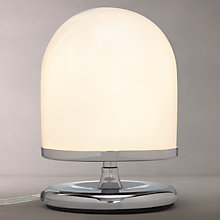Buy John Lewis Pod 3-Stage Touch Table Lamp, Polished Chrome Online at johnlewis.com