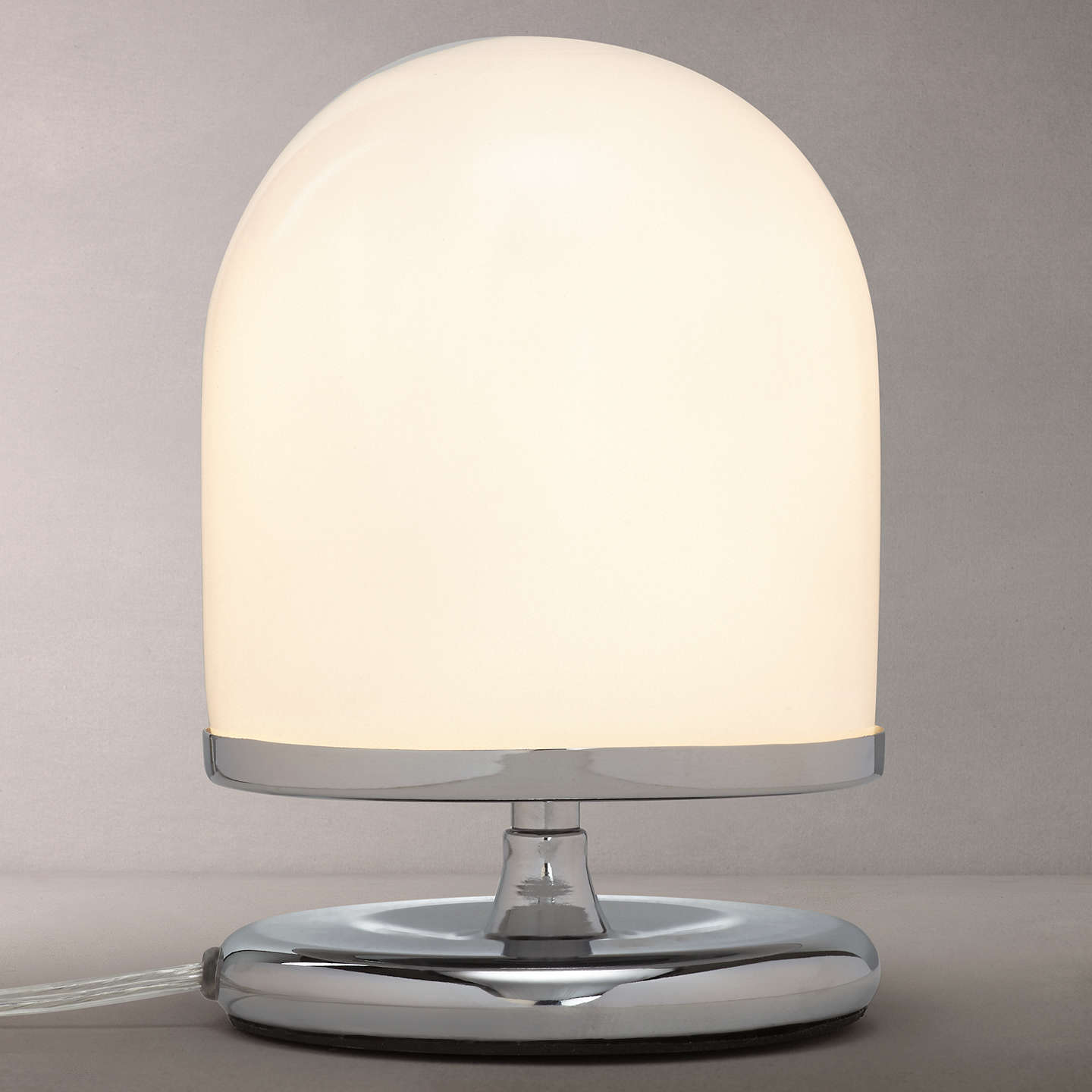 John lewis pod 3 stage touch table lamp polished chrome at john lewis buyjohn lewis pod 3 stage touch table lamp polished chrome online at johnlewis aloadofball Gallery