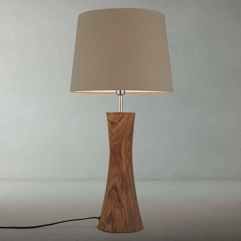 John Lewis Aki Natural Sheesham Table Lamp At John Lewis -> Aki Carpetes