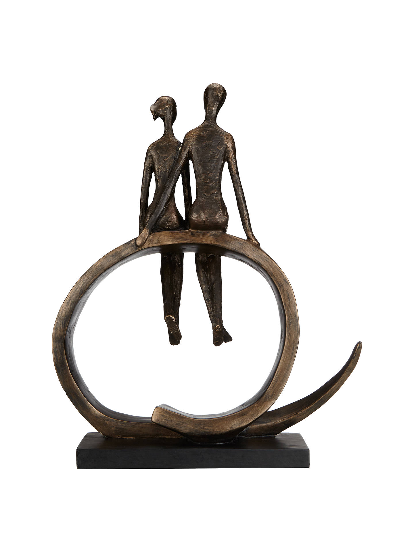 BuyLibra Seated Couple Sculpture Online at johnlewis.com